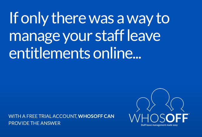 WhosOff - Staff leave management made easy